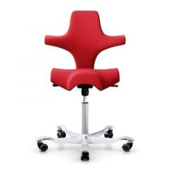 HAG Capisco 8106 Chair - Red Wool