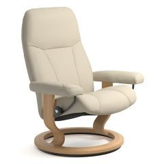 Stressless Consul Recliner Chair - without Footstool