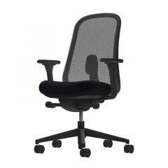 Herman Miller Lino Chair - Black, All Features