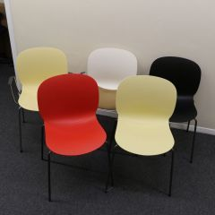 RBM Noor 6060 Stacking Chairs, Set of 5