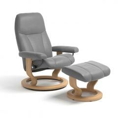 Stressless Consul Classic Recliner & Footstool- Special Offer
