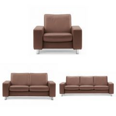 Stressless Pause Low Back Sofa