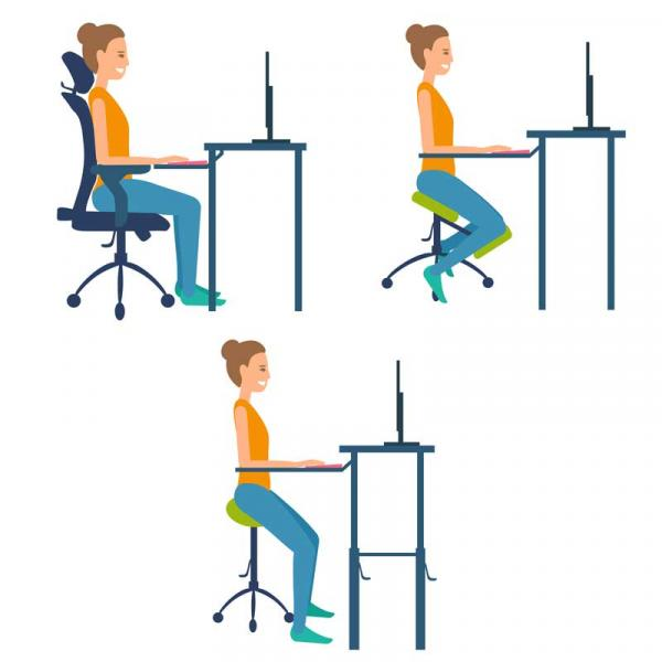 Stools vs Chairs vs Kneeling Chairs: Which one for you?