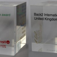 Back2 Receives award from Herman Miller