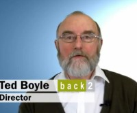 Director Ted Boyle talks about Back2.