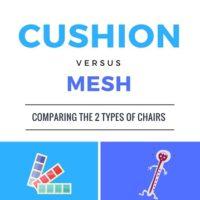 Cushion Versus Mesh Chairs