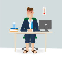 How to Keep Cool in the Office