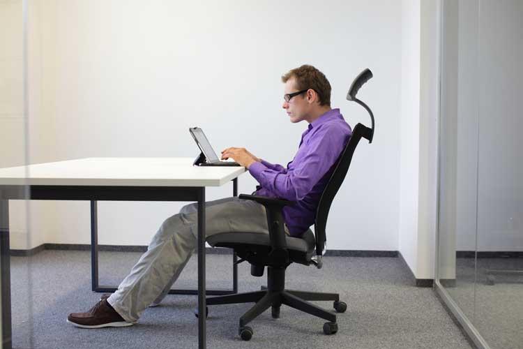 Bad habits that ruin posture